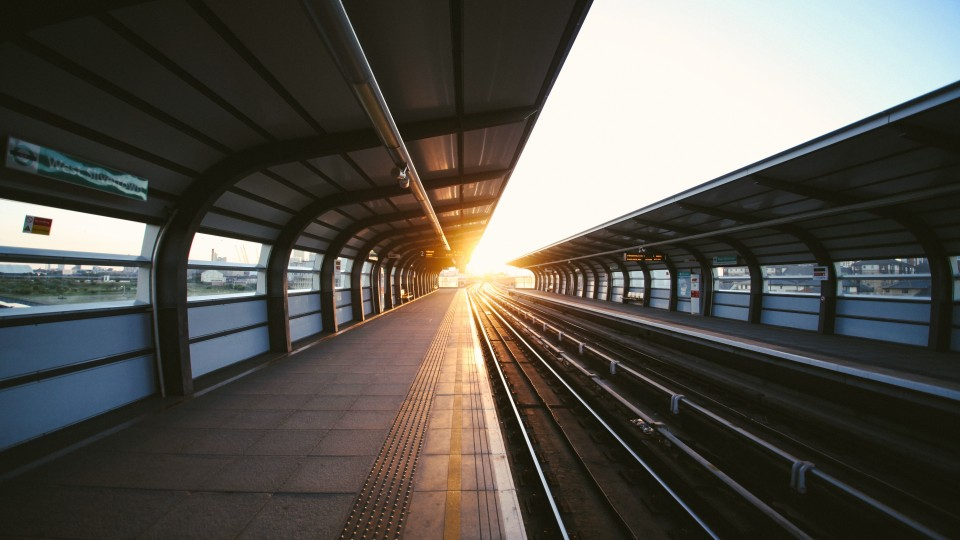 Bild Bahnhof Haltestelle ÖPNV