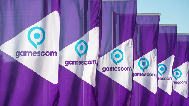 Logo der Messe gamescom 2016