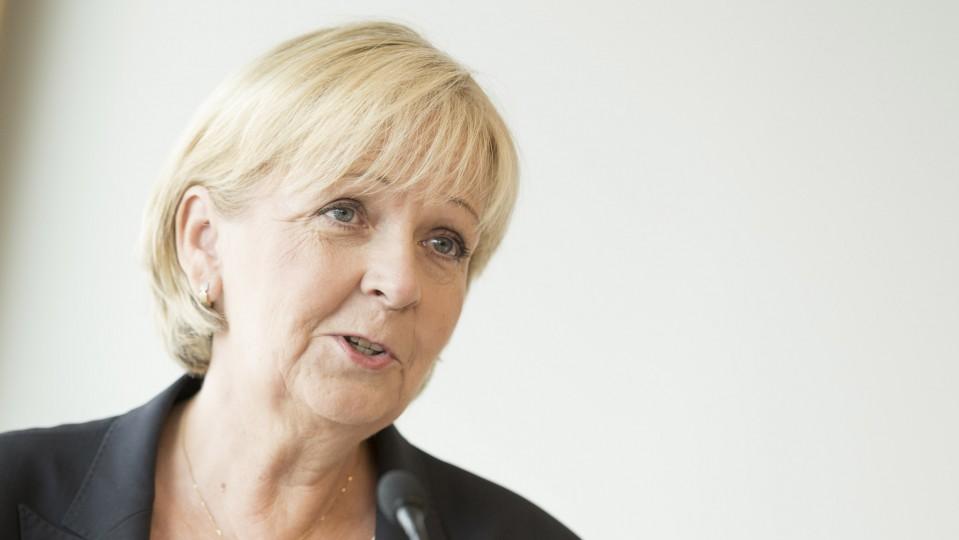 Ministerpräsidentin Hannelore Kraft hält eine Ansprache