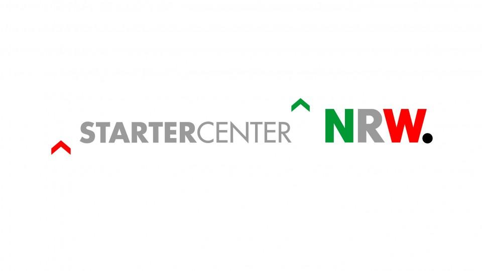 Das Logo STARTERCENTER NRW