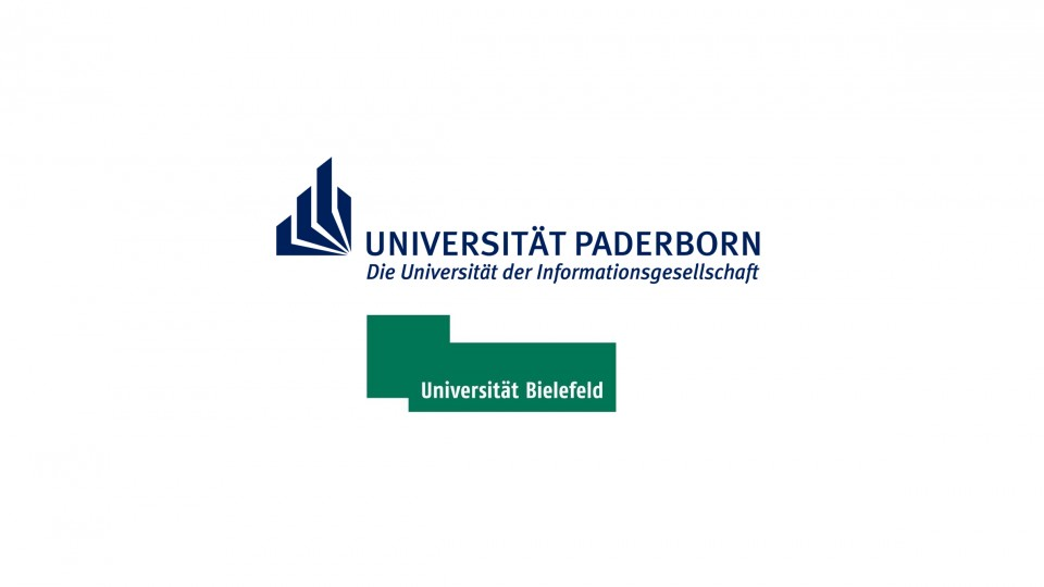 Logos der Uni Bielefeld und Uni Paderborn