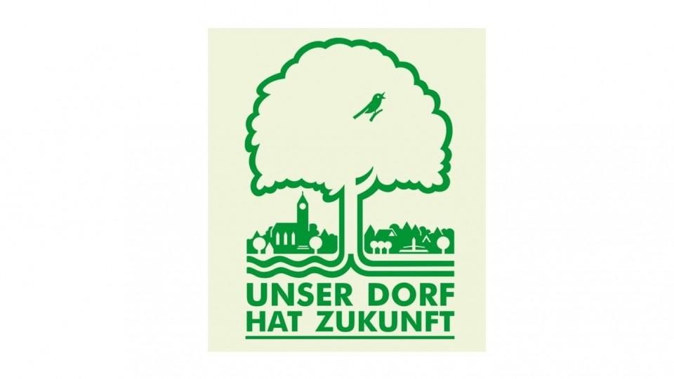 Logo des Wettbewerbs Unser Dorf hat Zukunft