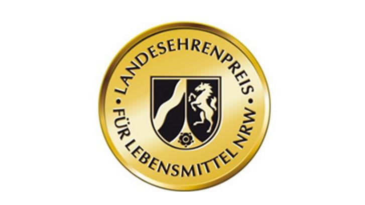 Logo zum Landesehrenpreis für Lebensmittel NRW