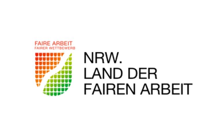 Logo der landesinitiative Land der fairen Arbeit