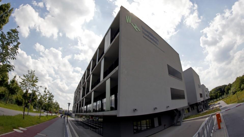 Außenaufnahme der Westfälischen Hochschule Gelsenkirchen